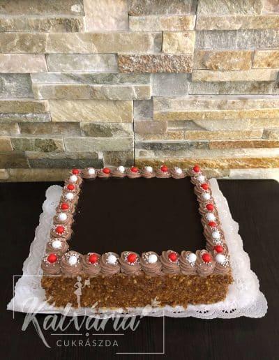 Extra csoki torta